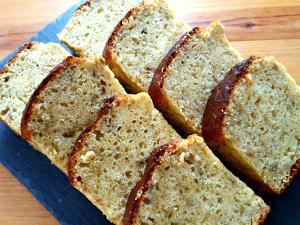 ホットケーキミックスで作るバナナパウンドケーキ