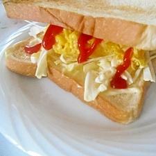 エッグ&キャベツサンドイッチ