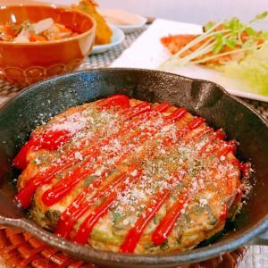 簡単♪小松菜とチーズのオープンオムレツ