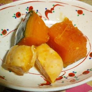 鶏のササミとかぼちゃの煮物