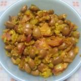 ひよこ豆のカレー炒め