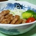 豚ロース肉の短冊揚げ☆塩ニンニク味