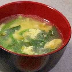 コツなし!手間なし!5分で中華スープ☆