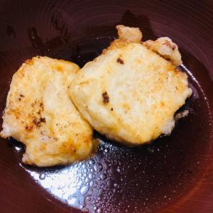絹豆腐で揚げ出し豆腐