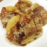 ご飯が進む♬玉ねぎの豚バラ巻きステーキ