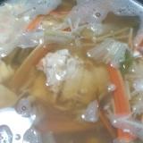 家にある調味料で、おいしいカニ鍋