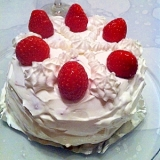 X'mas ショートケーキ