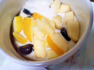 黒豆&こうこう林檎の豆乳グルト