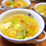 スイカと豆腐のスープ