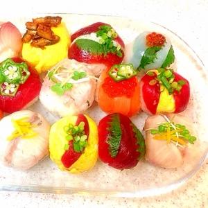 カラフル☆手まり寿司