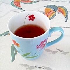 紅茶にココナッツオイル♪