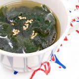 乾燥ワカメで簡単(^^)韓国風ワカメスープ♪