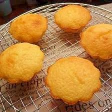 HM使用☆バターとレモンの香りが◎な美味マドレーヌ