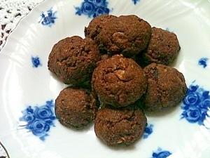 砂糖・卵・乳製品なしのクリスピーココアクッキー