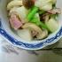 かぶとベーコンの炒め物