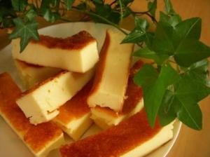 ミキサーで超簡単☆チーズケーキバー