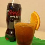 コーラオレンジカクテル 簡単♪爽やか美味しい