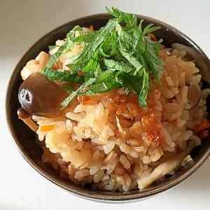 ヨシダソース グルメのたれを使った絶品炊き込みご飯