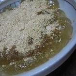 片栗粉で簡単!わらび餅もどき