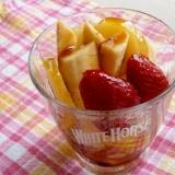 寒天・フルーツのデザート