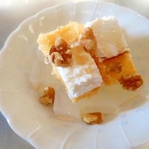 デザートに☆寒天とロールケーキ☆