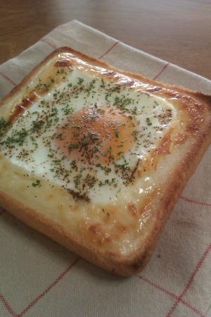 超簡単!トースターだけで作る★エッグトースト