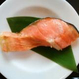 フライパンで ふっくら鮭の塩焼き