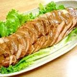 煮豚より簡単! 豚もも肉しっとりローストポーク♪