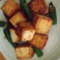 こってり美味しい☆厚揚げとオクラの焼き肉のタレ炒め