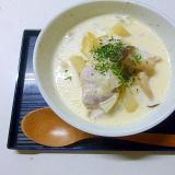 牛乳消費に☆炊飯器で作るクリーム煮