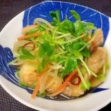 鶏肉と揚げ豆腐の煮浸し