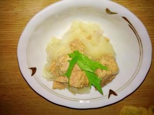 高齢者向け(介護食向け)大根とシーチキンの煮物