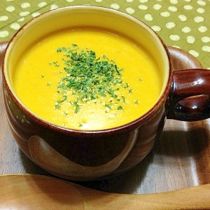 ご飯入り絶品☆パンプキン・スープ