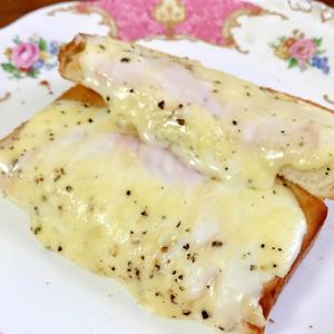 クロックムッシュ風トースト☆朝食や昼食に