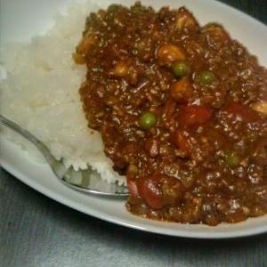 30分でレンズ豆のキーマカレー