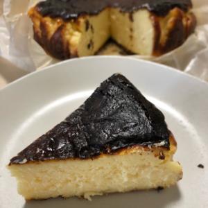失敗してないですよ!バスク風チーズケーキ