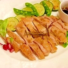 減塩☆鶏の柚子胡椒焼き