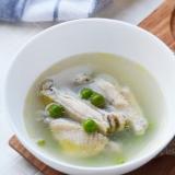 春かおる えんどう豆のスープ