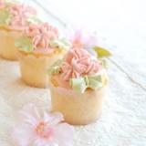 桜のカップケーキ【No.122】