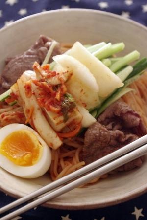 夏にピッタリ☆ビビン麺