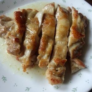 鶏もも肉のビネグレットソース柚子胡椒風味!