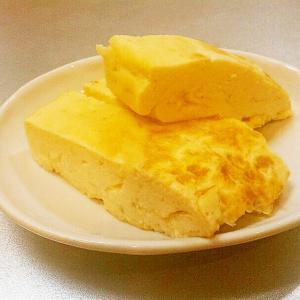 豆腐で関西風出汁巻き,卵焼き◆ヘルシー,お弁当にも