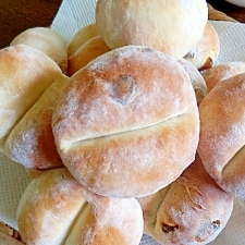 お尻の形のドイツ食事パン・ブレッチェン