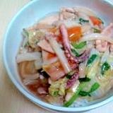 白菜たっぷり中華丼