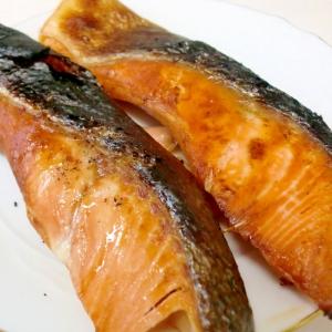 マジックソルトで♪イタリアンな焼き鮭