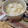 離乳食  はんぺんと野菜と豚肉のちゃんこ風スープ