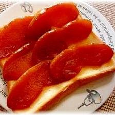 ♪♪甘くてほろ苦★りんごのキャラメルトースト♪♪