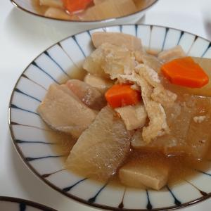 高野豆腐入り☆大根の煮物