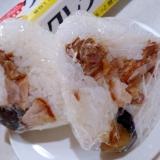 朝ラクおにぎり弁当!カリカリ鶏肉と茄子おにぎり