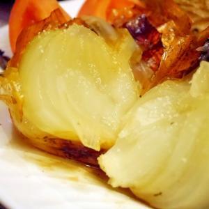 玉ねぎとろとろ★まるごとオーブン焼き